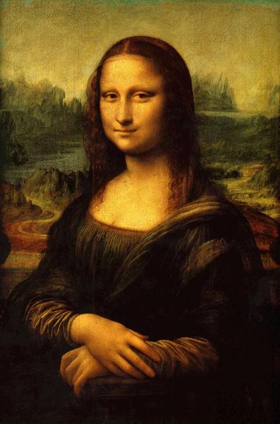 mona-lisa Maleri