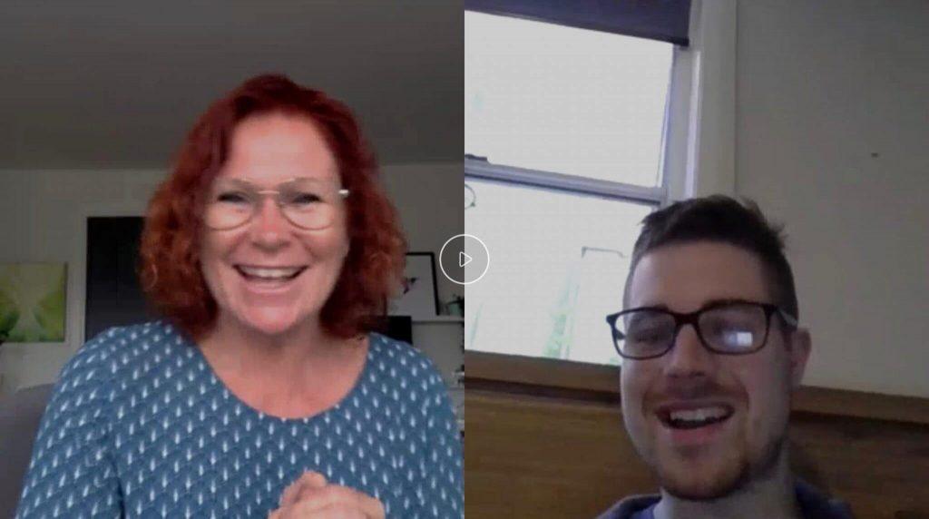 Qigong samtale over webcam