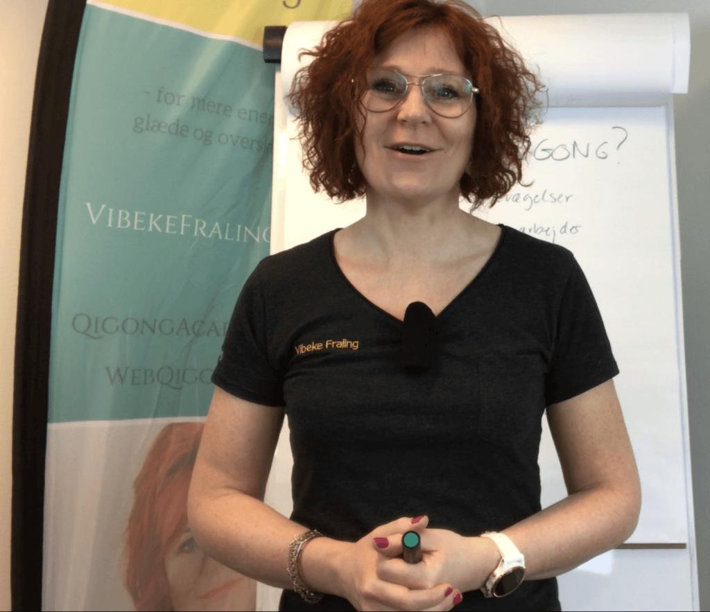 Foredrag med vibeke Fraling