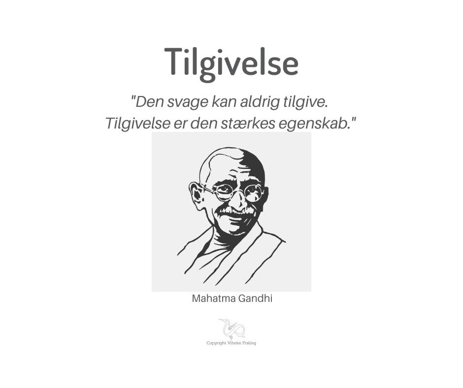 Citat Mahatma Gandi tilgivelse