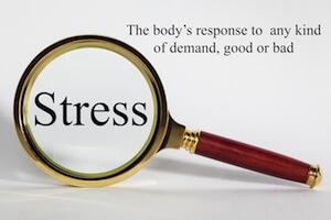 Fokus på stress forstøelsesglas