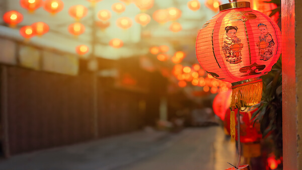 rød Lanterne-kinesisk-nytår