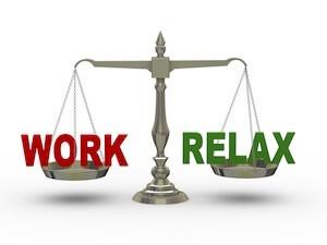 Arbejde og fritid find balancen