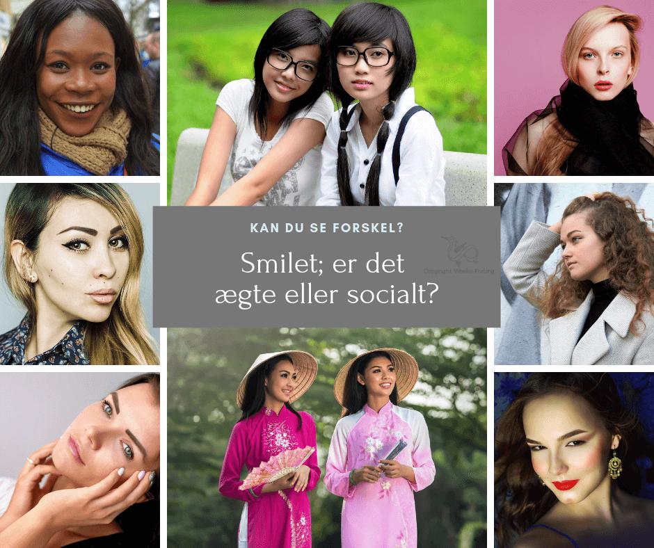 Ægte eller uægte smil kan du se forskel?