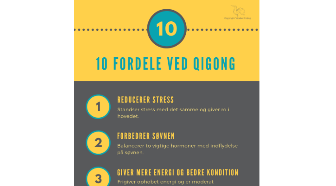 10 fordele ved Qigong 1-3
