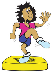 Gymnastik dame