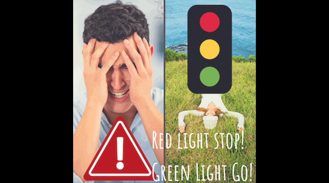 Red light stop Green light go
