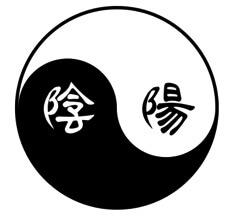 Ying og Yang tegn