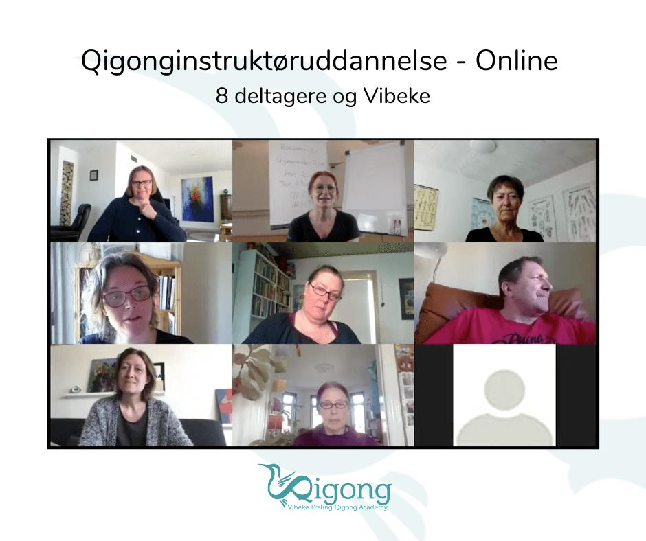 Online møde Qigonginstruktoer-uddannelse