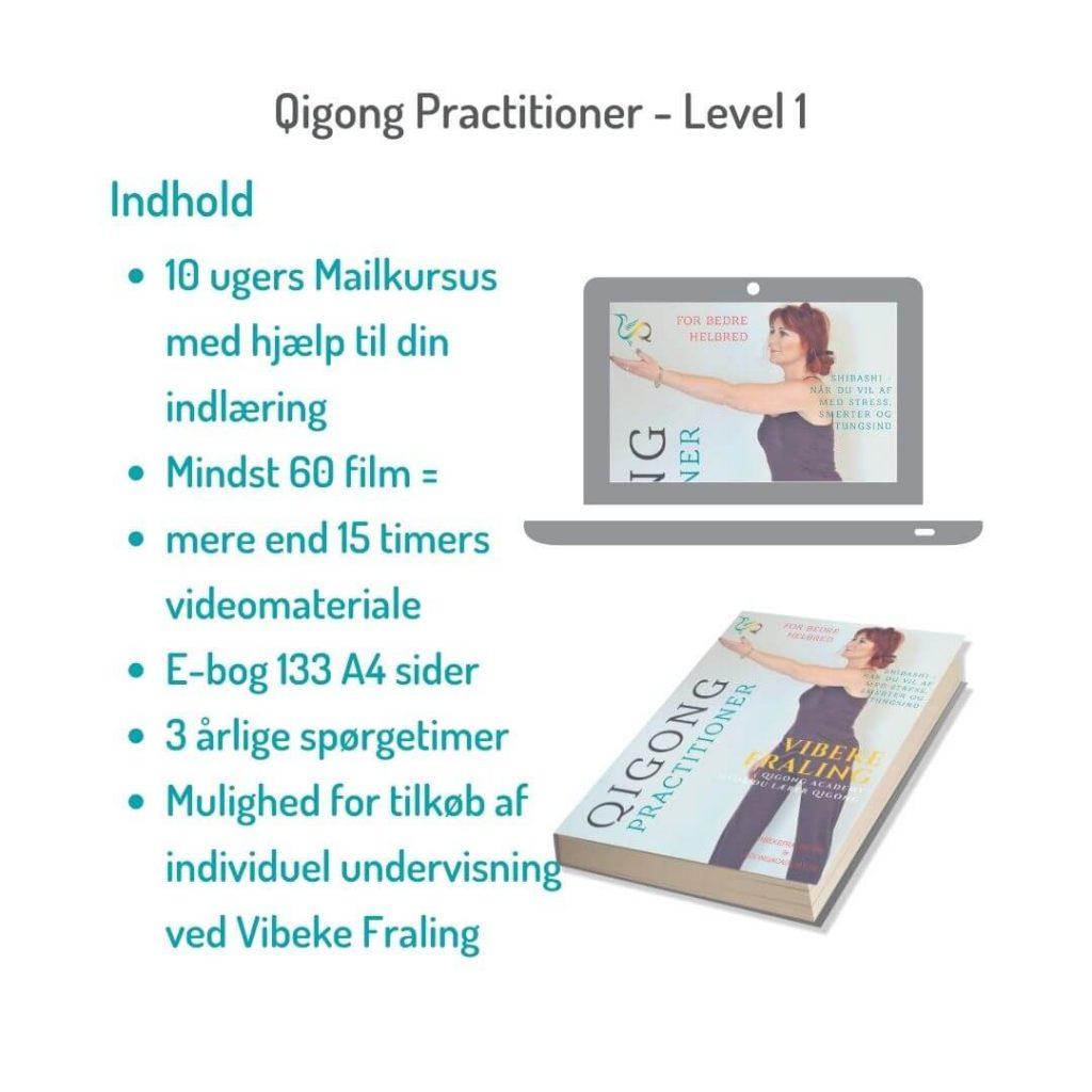 Indhold i qigong-practioner-level1