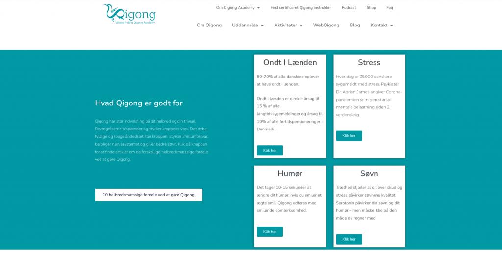 qigong academy link ny hjemmeside